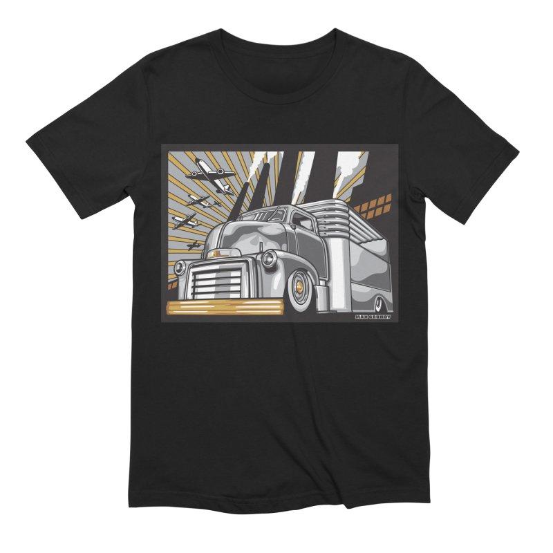 WAR PAINT Men's Extra Soft T-Shirt by Max Grundy Design's Artist Shop