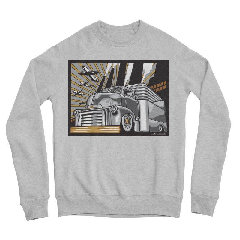 WAR PAINT Men's Sponge Fleece Sweatshirt by Max Grundy Design's Artist Shop