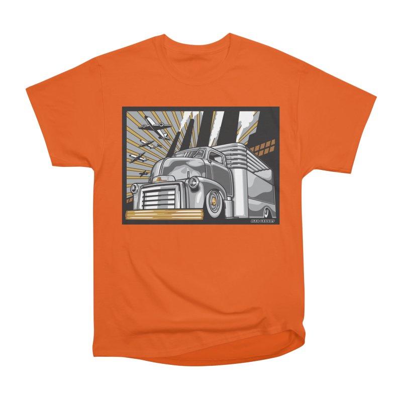 WAR PAINT Men's Heavyweight T-Shirt by Max Grundy Design's Artist Shop