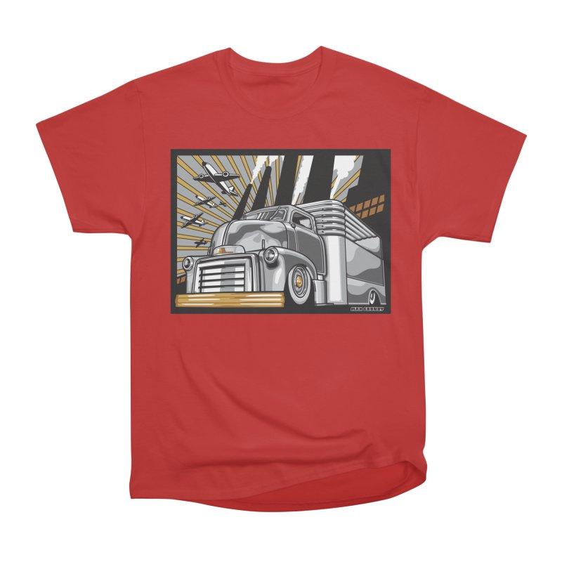WAR PAINT Women's Heavyweight Unisex T-Shirt by Max Grundy Design's Artist Shop