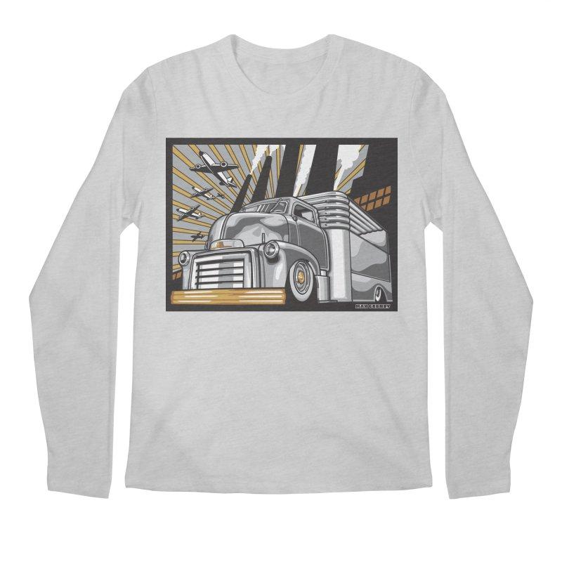 WAR PAINT Men's Regular Longsleeve T-Shirt by Max Grundy Design's Artist Shop