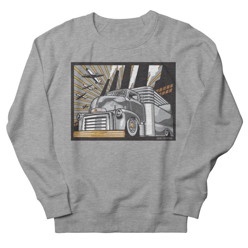 WAR PAINT Women's French Terry Sweatshirt by Max Grundy Design's Artist Shop