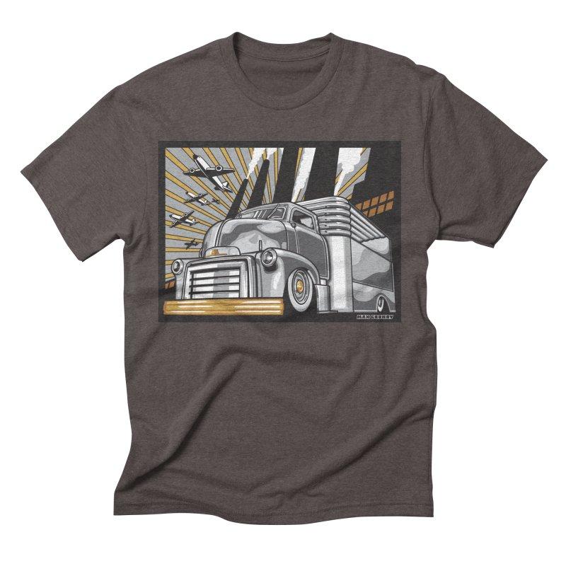 WAR PAINT Men's Triblend T-Shirt by Max Grundy Design's Artist Shop