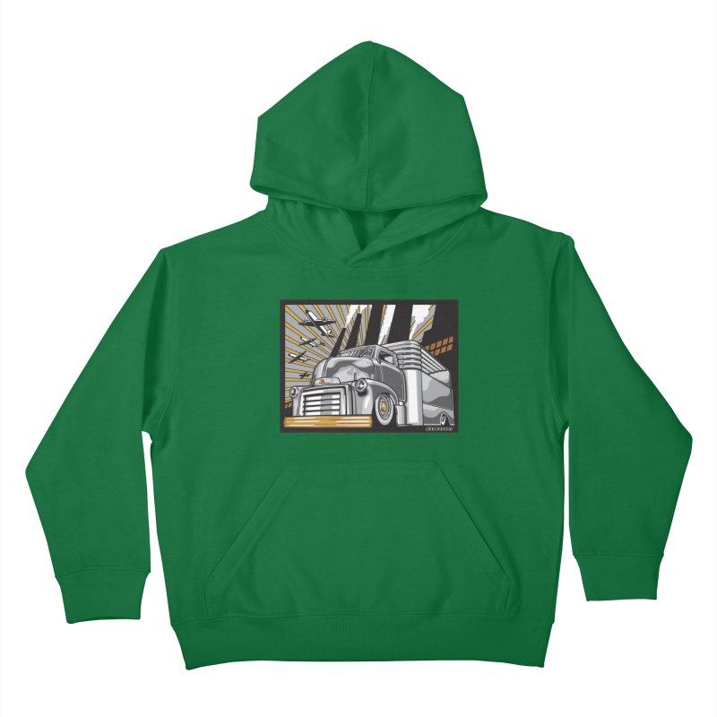WAR PAINT Kids Pullover Hoody by Max Grundy Design's Artist Shop