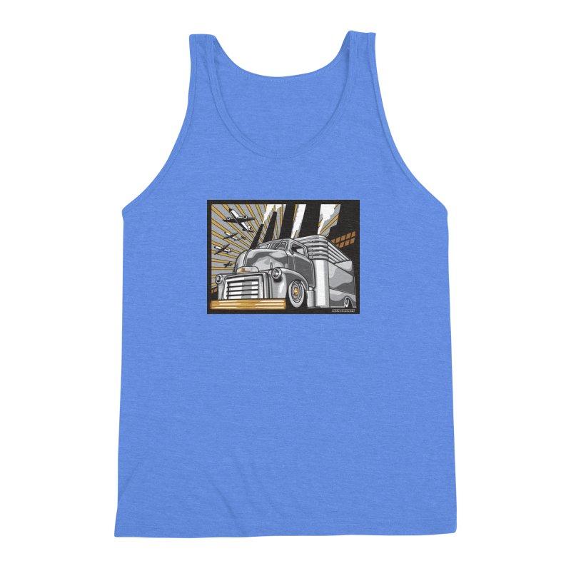 WAR PAINT Men's Triblend Tank by Max Grundy Design's Artist Shop