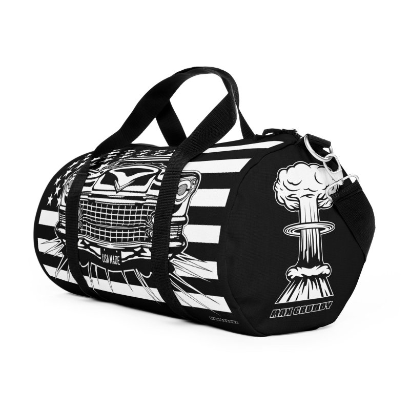 USA MADE Accessories Duffel Bag Bag by Max Grundy Design's Artist Shop