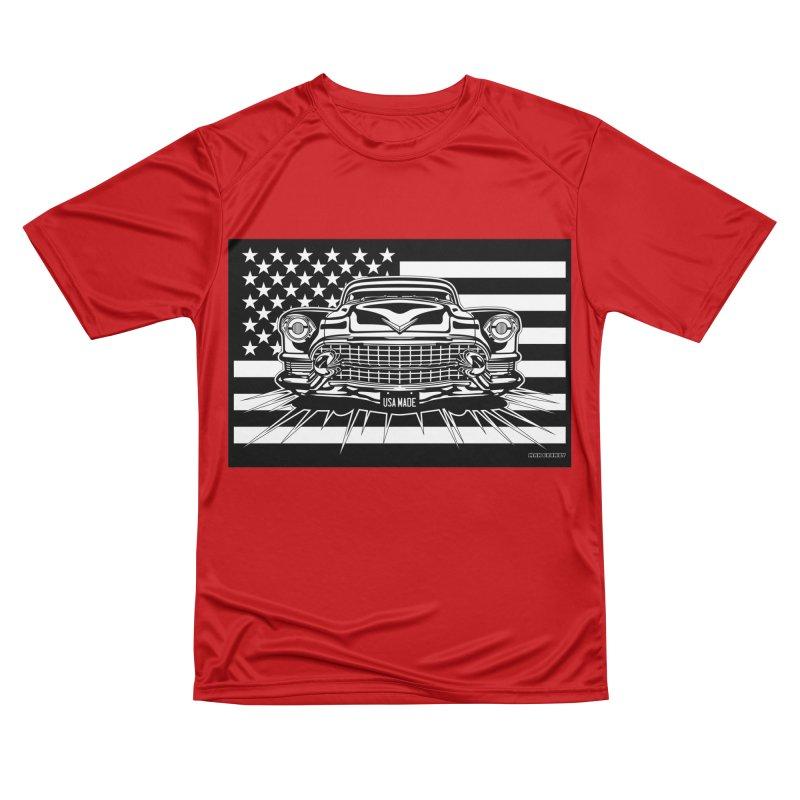 USA MADE Men's Performance T-Shirt by Max Grundy Design's Artist Shop