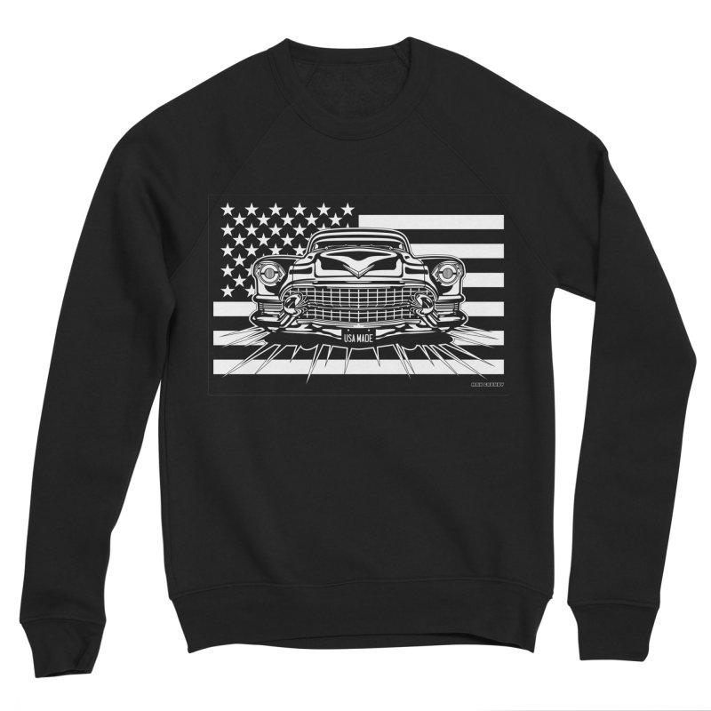 USA MADE Men's Sponge Fleece Sweatshirt by Max Grundy Design's Artist Shop