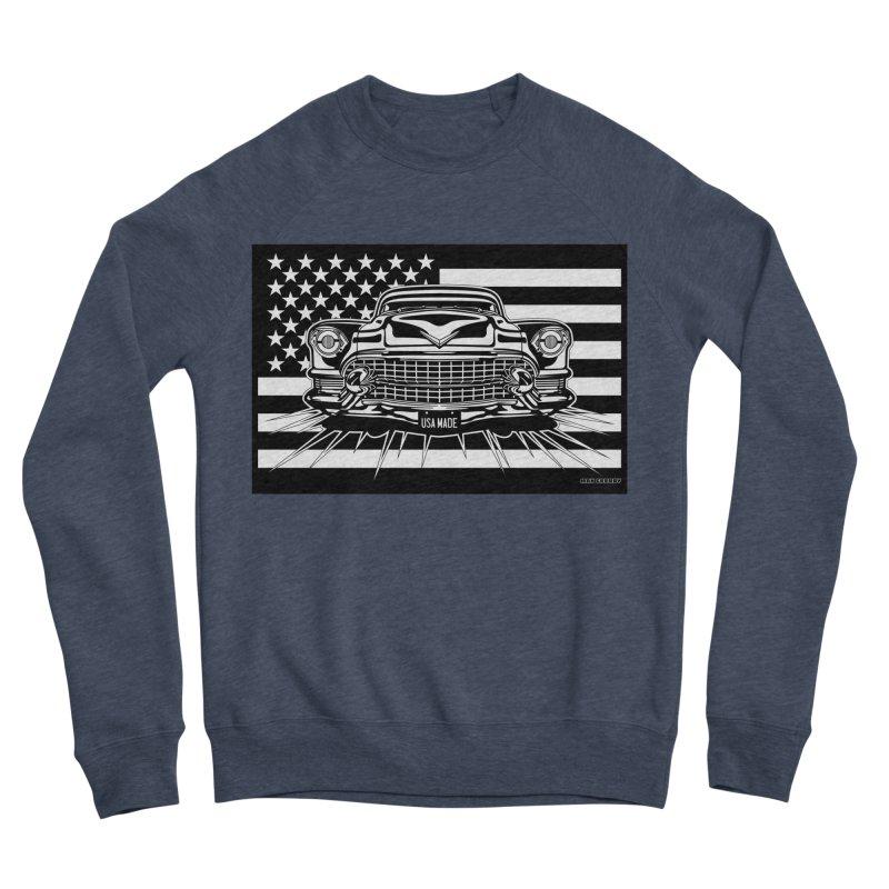 USA MADE Women's Sponge Fleece Sweatshirt by Max Grundy Design's Artist Shop