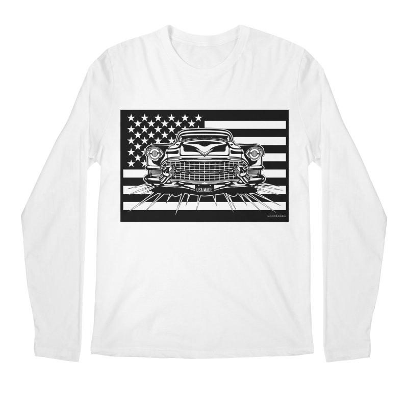 USA MADE Men's Regular Longsleeve T-Shirt by Max Grundy Design's Artist Shop
