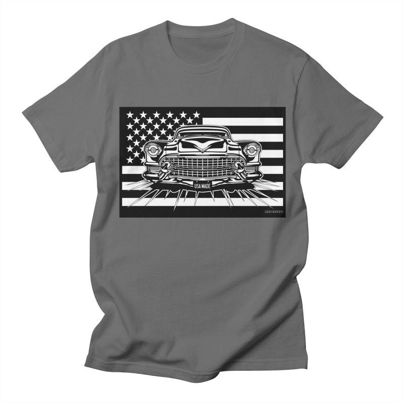USA MADE Men's T-Shirt by Max Grundy Design's Artist Shop