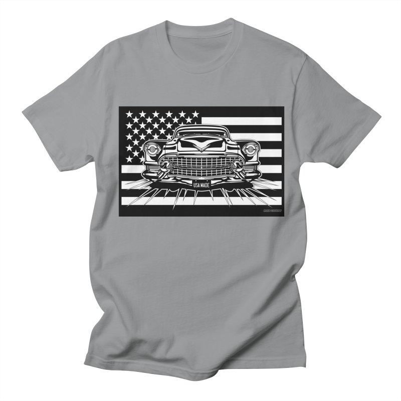 USA MADE Women's Regular Unisex T-Shirt by Max Grundy Design's Artist Shop