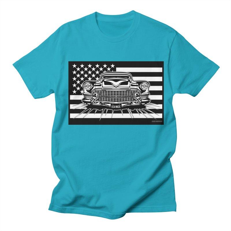 USA MADE Men's Regular T-Shirt by Max Grundy Design's Artist Shop