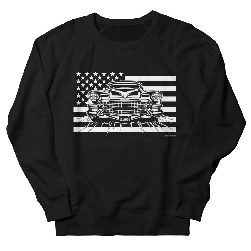 USA MADE Women's French Terry Sweatshirt by Max Grundy Design's Artist Shop