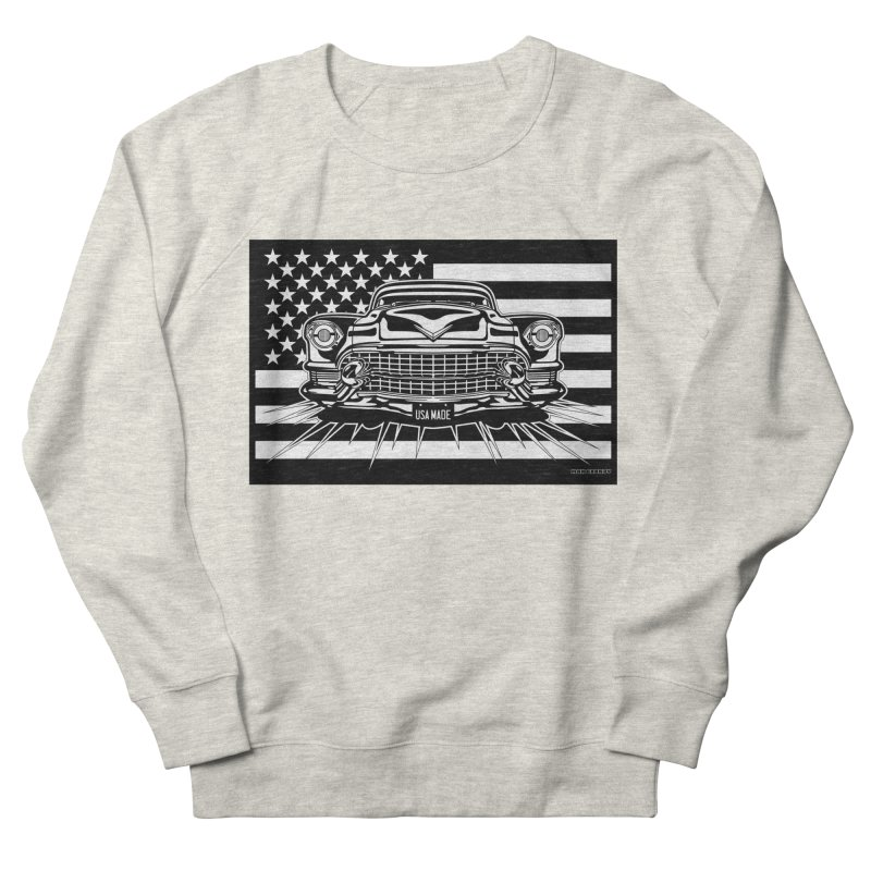 USA MADE Men's French Terry Sweatshirt by Max Grundy Design's Artist Shop