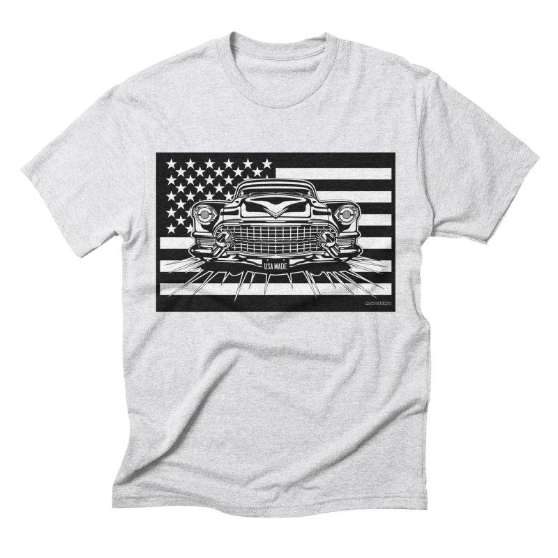 USA MADE Men's Triblend T-Shirt by Max Grundy Design's Artist Shop