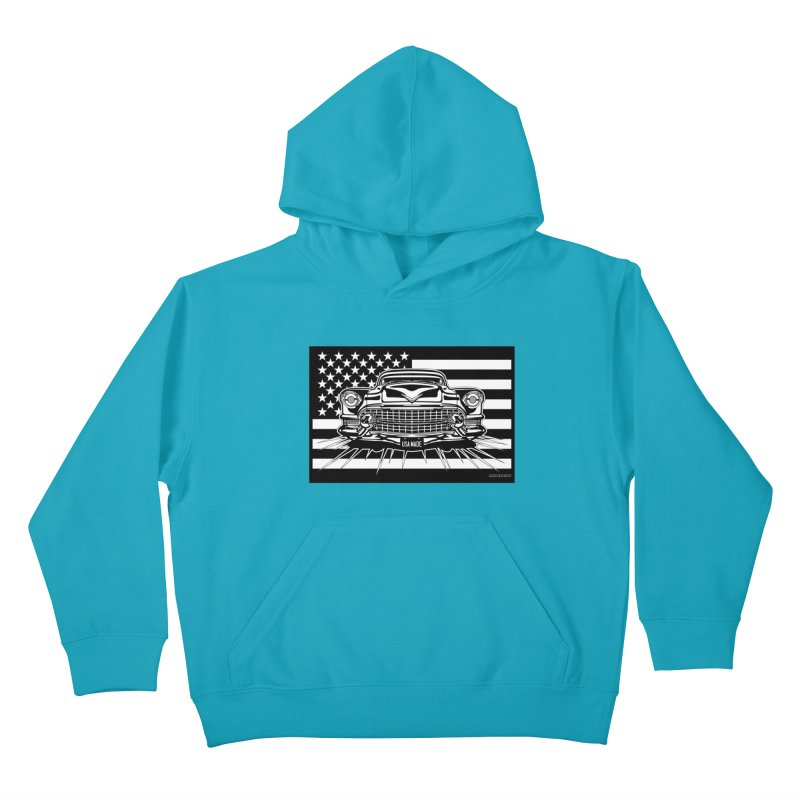 USA MADE Kids Pullover Hoody by Max Grundy Design's Artist Shop