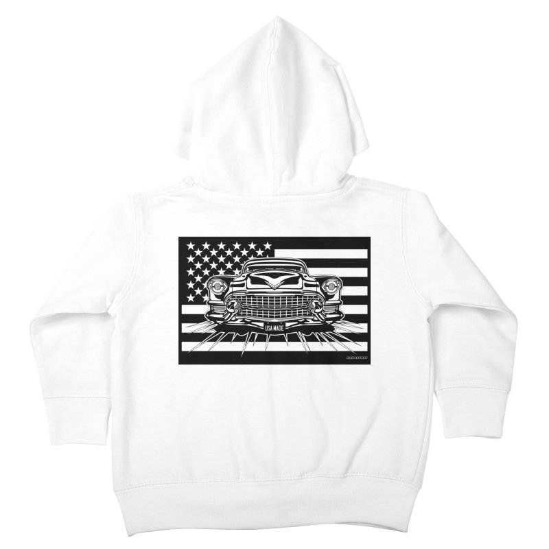 USA MADE Kids Toddler Zip-Up Hoody by Max Grundy Design's Artist Shop