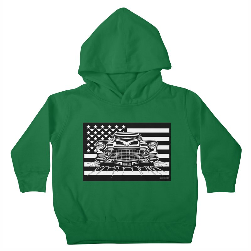 USA MADE Kids Toddler Pullover Hoody by Max Grundy Design's Artist Shop
