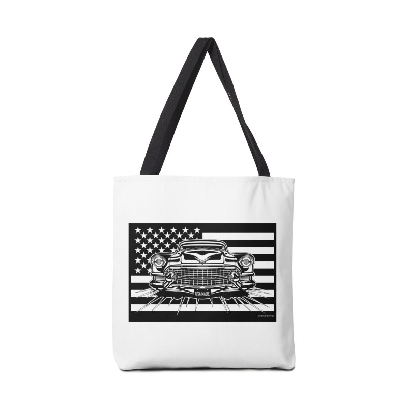 USA MADE Accessories Tote Bag Bag by Max Grundy Design's Artist Shop