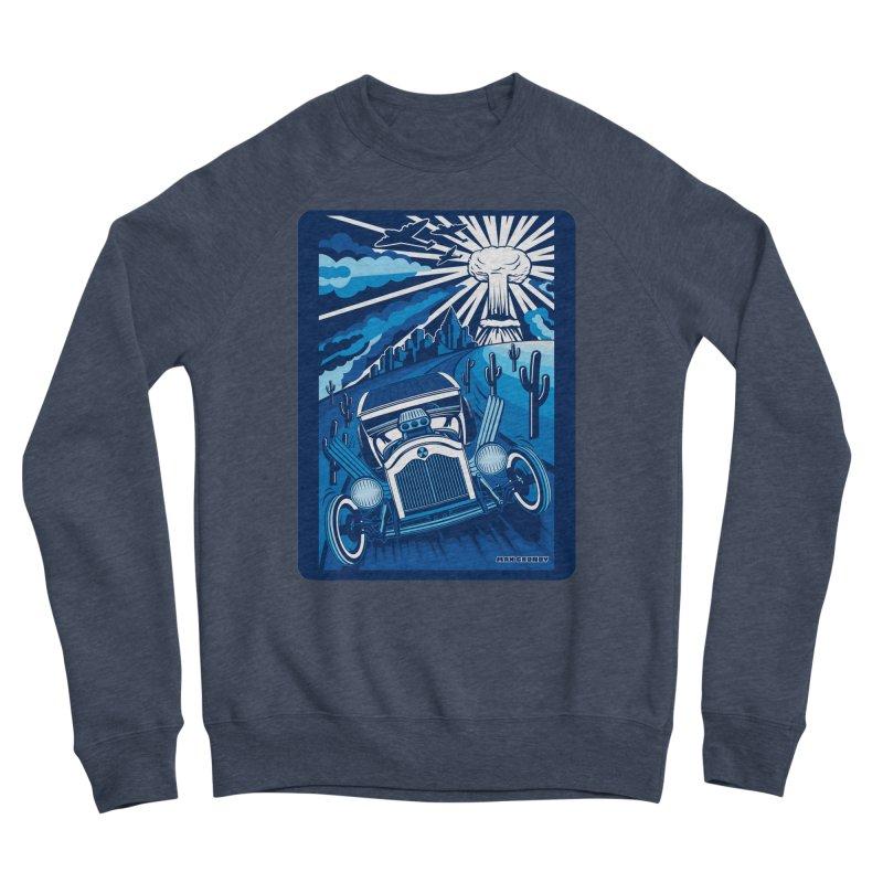 ESCAPE FROM L.A. (blue) Women's Sponge Fleece Sweatshirt by Max Grundy Design's Artist Shop