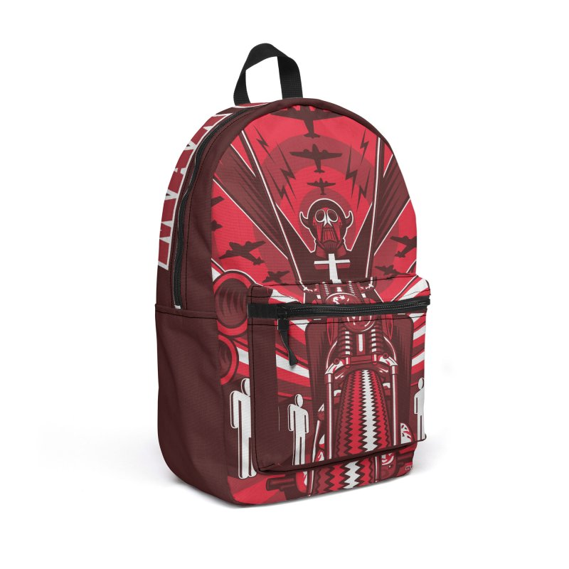 HORSEMAN OF THE APOCALYPSE Accessories Backpack Bag by Max Grundy Design's Artist Shop