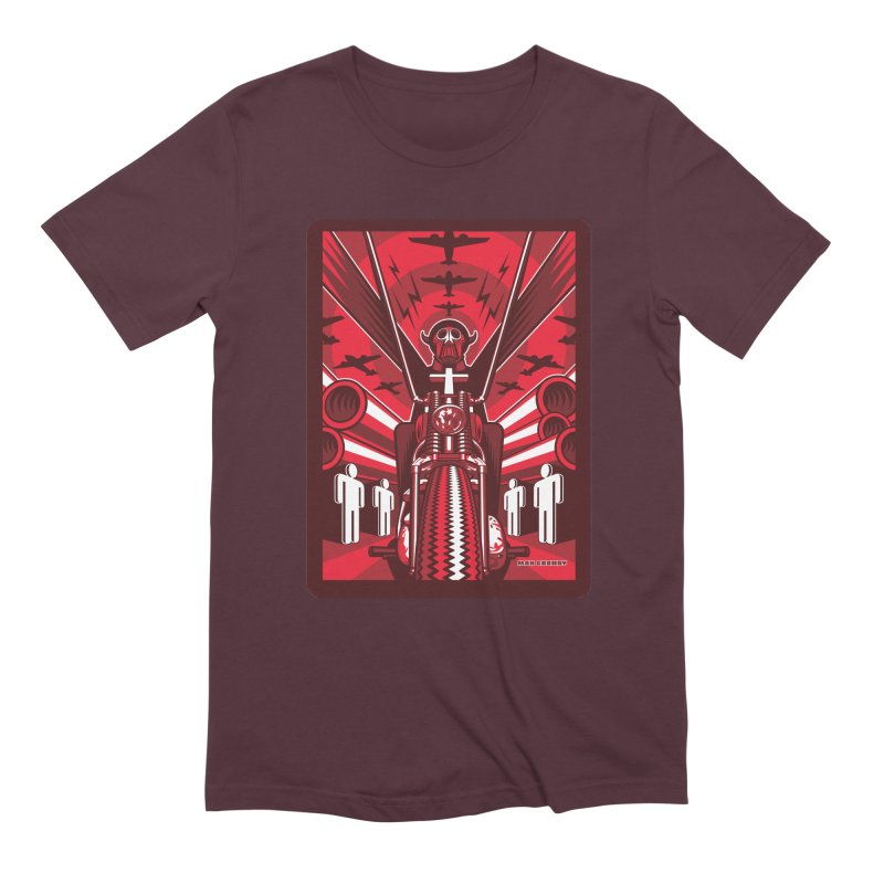 HORSEMAN OF THE APOCALYPSE Men's Extra Soft T-Shirt by Max Grundy Design's Artist Shop