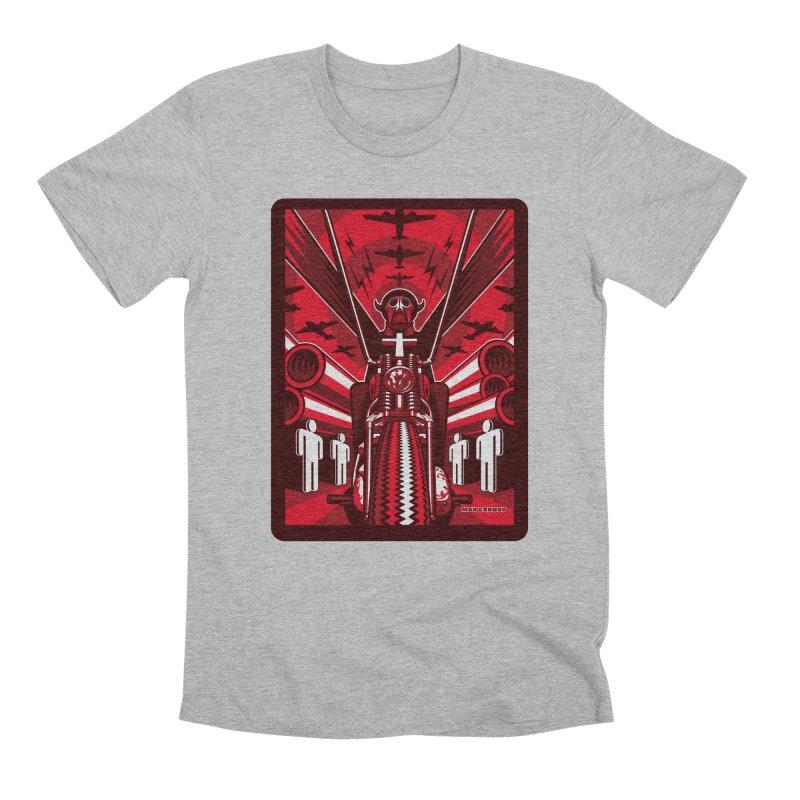 HORSEMAN OF THE APOCALYPSE Men's Premium T-Shirt by Max Grundy Design's Artist Shop