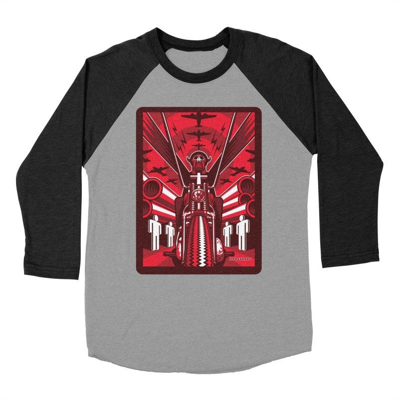 HORSEMAN OF THE APOCALYPSE Men's Baseball Triblend Longsleeve T-Shirt by Max Grundy Design's Artist Shop