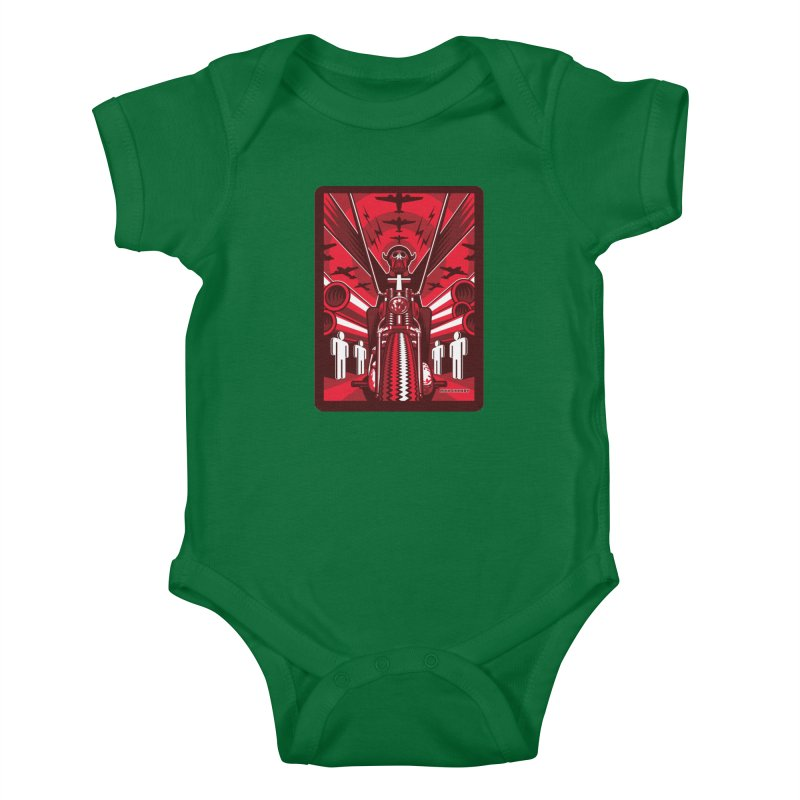 HORSEMAN OF THE APOCALYPSE Kids Baby Bodysuit by Max Grundy Design's Artist Shop