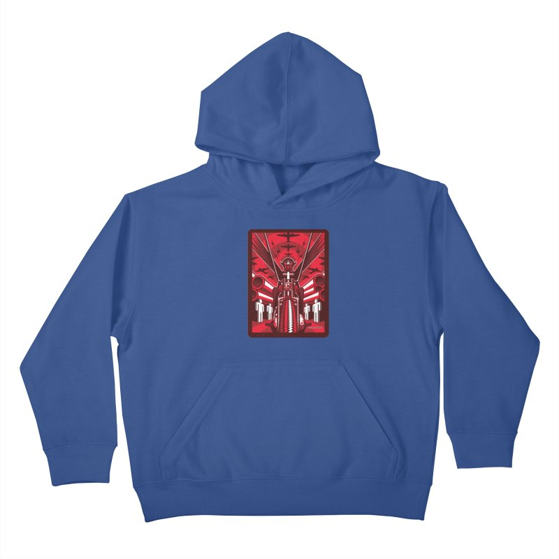 HORSEMAN OF THE APOCALYPSE Kids Pullover Hoody by Max Grundy Design's Artist Shop