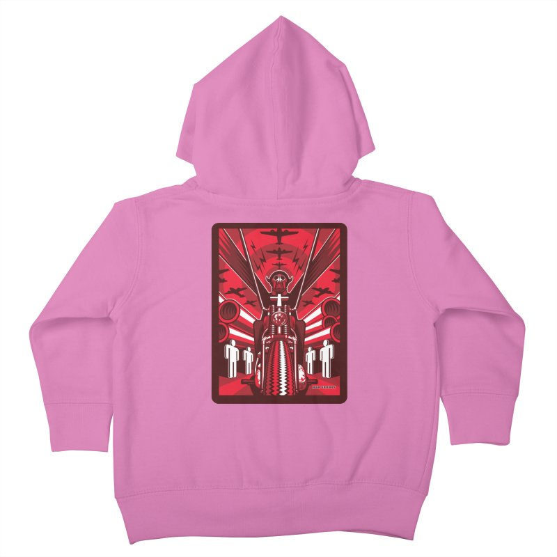 HORSEMAN OF THE APOCALYPSE Kids Toddler Zip-Up Hoody by Max Grundy Design's Artist Shop