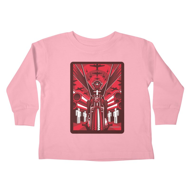 HORSEMAN OF THE APOCALYPSE Kids Toddler Longsleeve T-Shirt by Max Grundy Design's Artist Shop