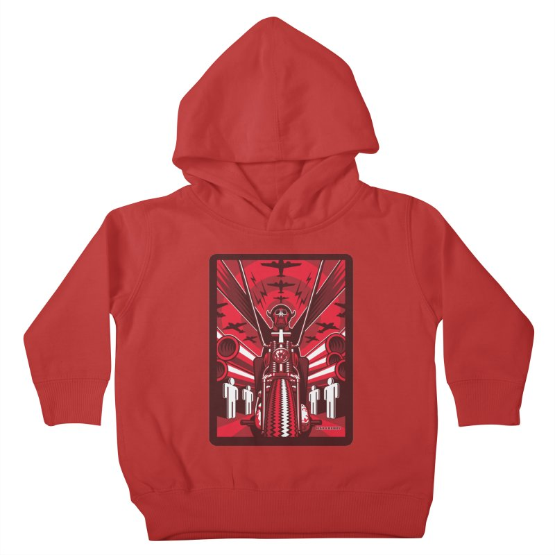 HORSEMAN OF THE APOCALYPSE Kids Toddler Pullover Hoody by Max Grundy Design's Artist Shop