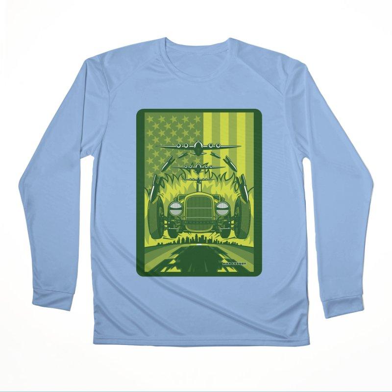 THE GREEN AGENDA (fallout edition) Women's Performance Unisex Longsleeve T-Shirt by Max Grundy Design's Artist Shop