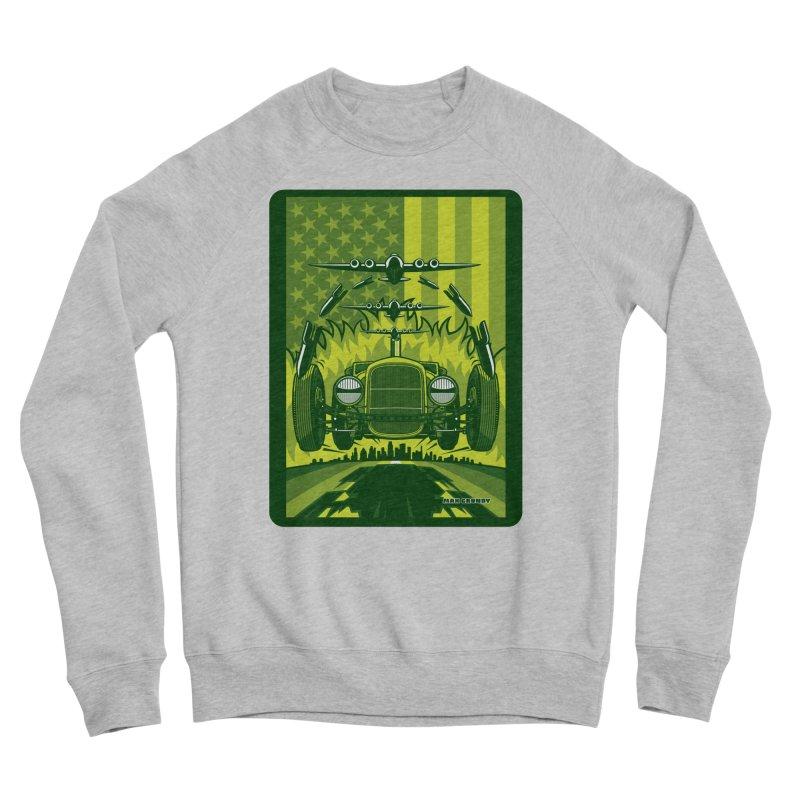 THE GREEN AGENDA (fallout edition) Women's Sponge Fleece Sweatshirt by Max Grundy Design's Artist Shop