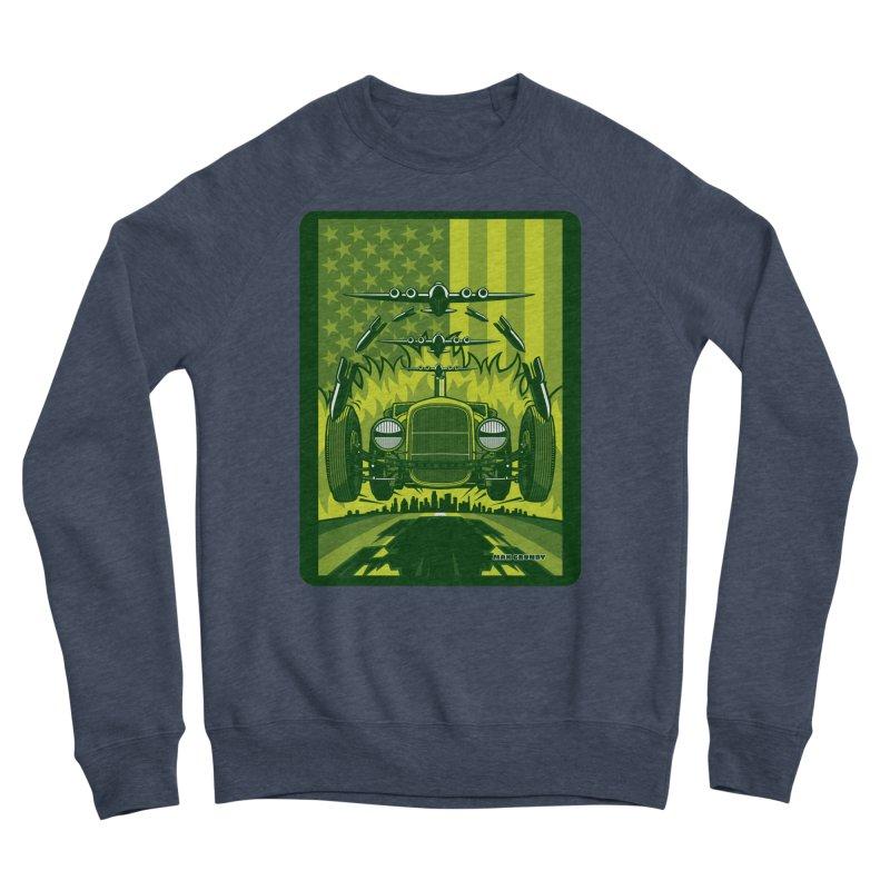 THE GREEN AGENDA (fallout edition) Men's Sponge Fleece Sweatshirt by Max Grundy Design's Artist Shop