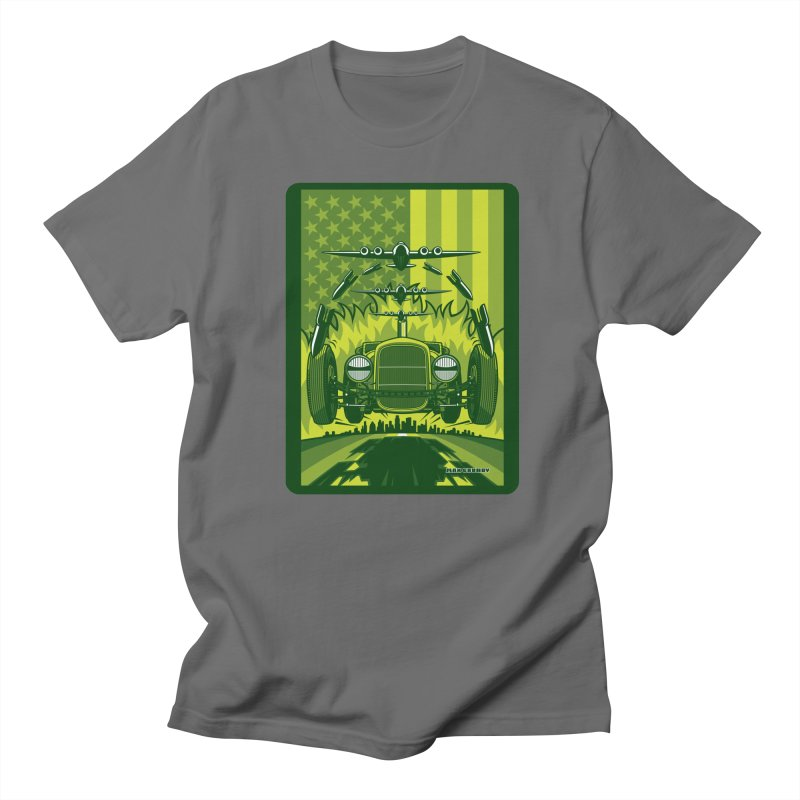 THE GREEN AGENDA (fallout edition) Men's T-Shirt by Max Grundy Design's Artist Shop