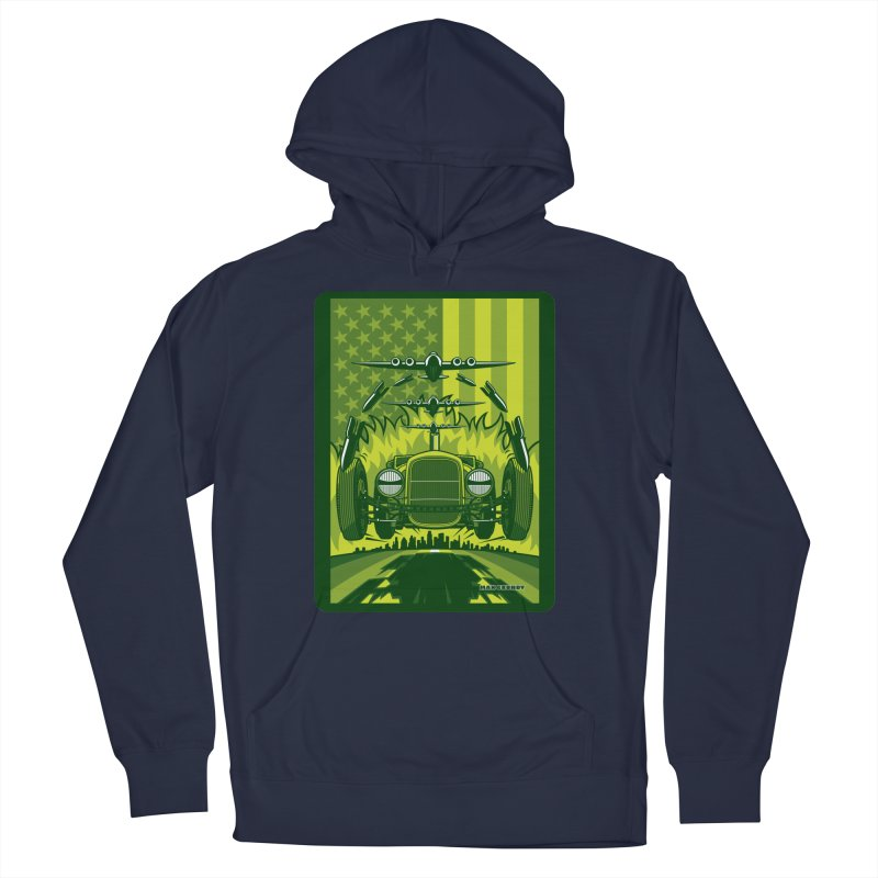THE GREEN AGENDA (fallout edition) Women's French Terry Pullover Hoody by Max Grundy Design's Artist Shop