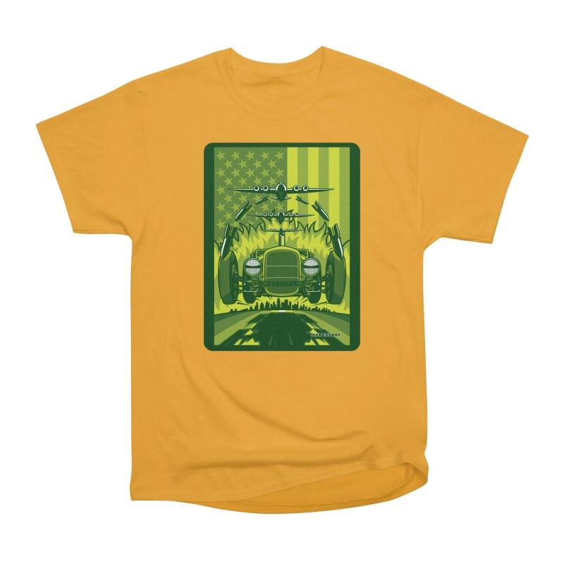 THE GREEN AGENDA (fallout edition) Women's Heavyweight Unisex T-Shirt by Max Grundy Design's Artist Shop