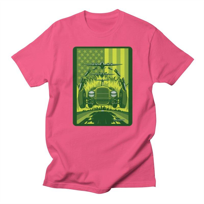 THE GREEN AGENDA (fallout edition) Men's Regular T-Shirt by Max Grundy Design's Artist Shop