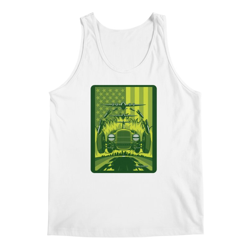 THE GREEN AGENDA (fallout edition) Men's Regular Tank by Max Grundy Design's Artist Shop