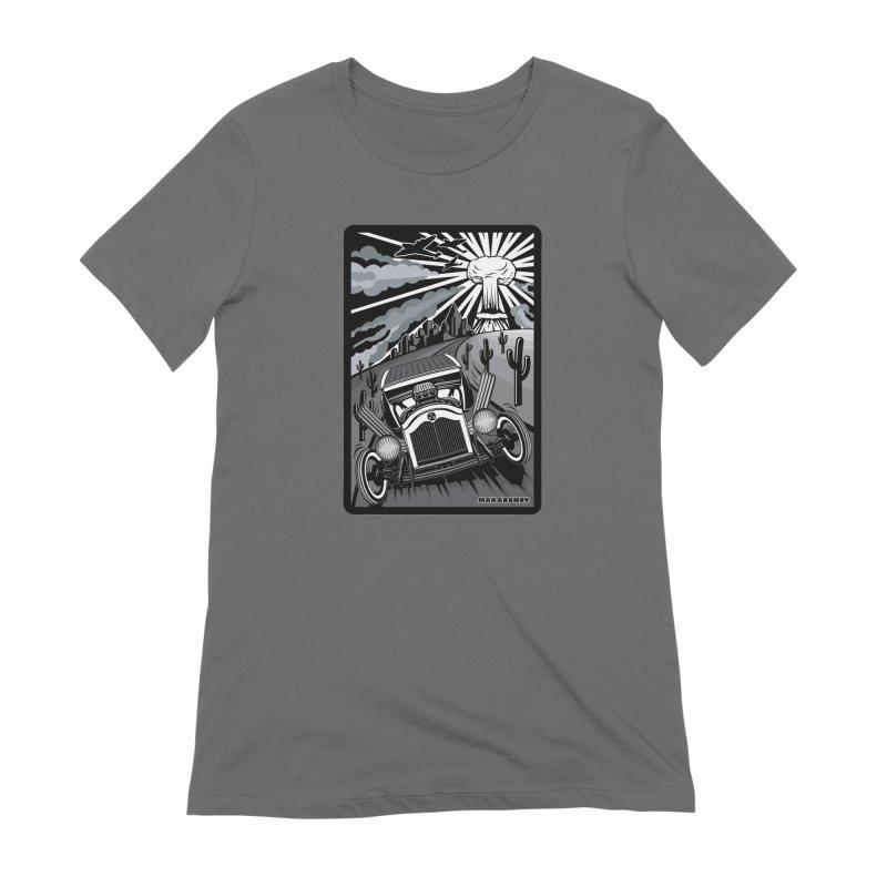 ESCAPE FROM L.A. (original version) Women's T-Shirt by Max Grundy Design's Artist Shop