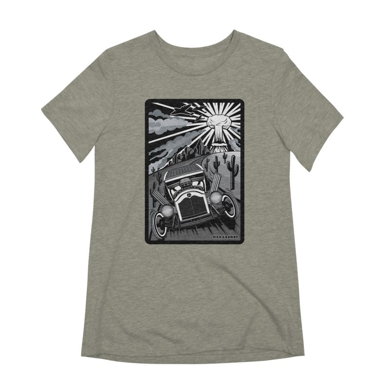 ESCAPE FROM L.A. (original version) Women's Extra Soft T-Shirt by Max Grundy Design's Artist Shop