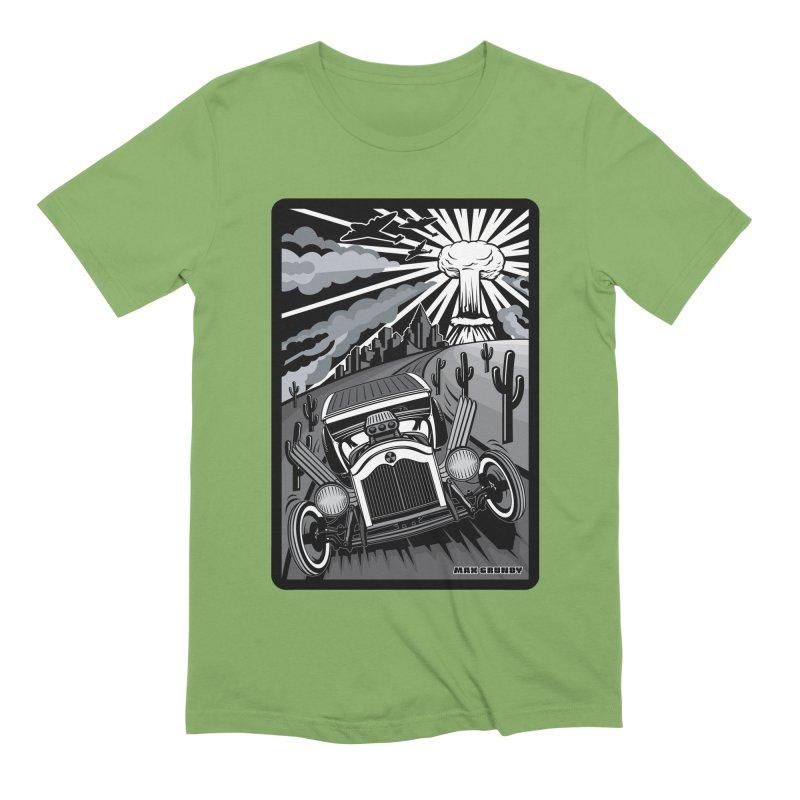ESCAPE FROM L.A. (original version) Men's Extra Soft T-Shirt by Max Grundy Design's Artist Shop