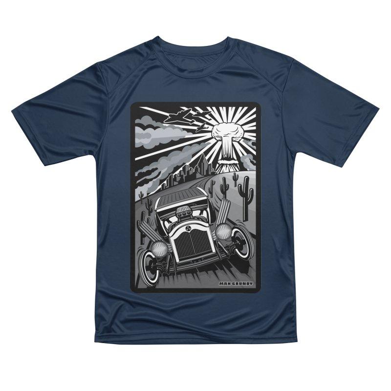 ESCAPE FROM L.A. (original version) Men's Performance T-Shirt by Max Grundy Design's Artist Shop