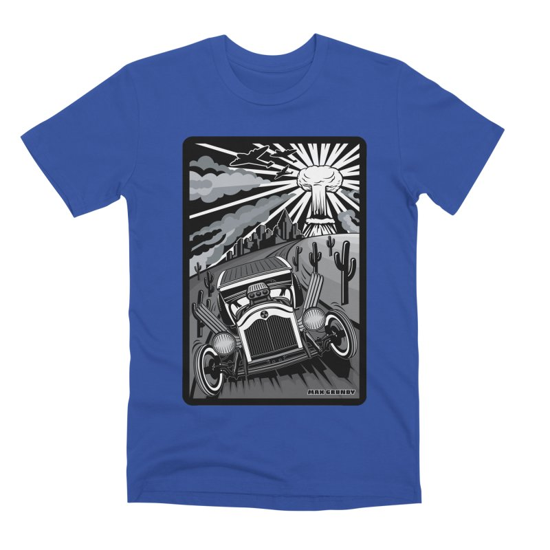 ESCAPE FROM L.A. (original version) Men's Premium T-Shirt by Max Grundy Design's Artist Shop