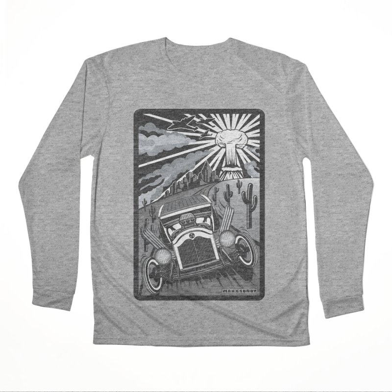 ESCAPE FROM L.A. (original version) Men's Performance Longsleeve T-Shirt by Max Grundy Design's Artist Shop