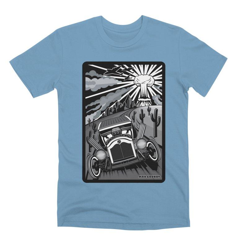 ESCAPE FROM L.A. (original version) Men's Premium T-Shirt by Max Grundy Design's Artist Shop