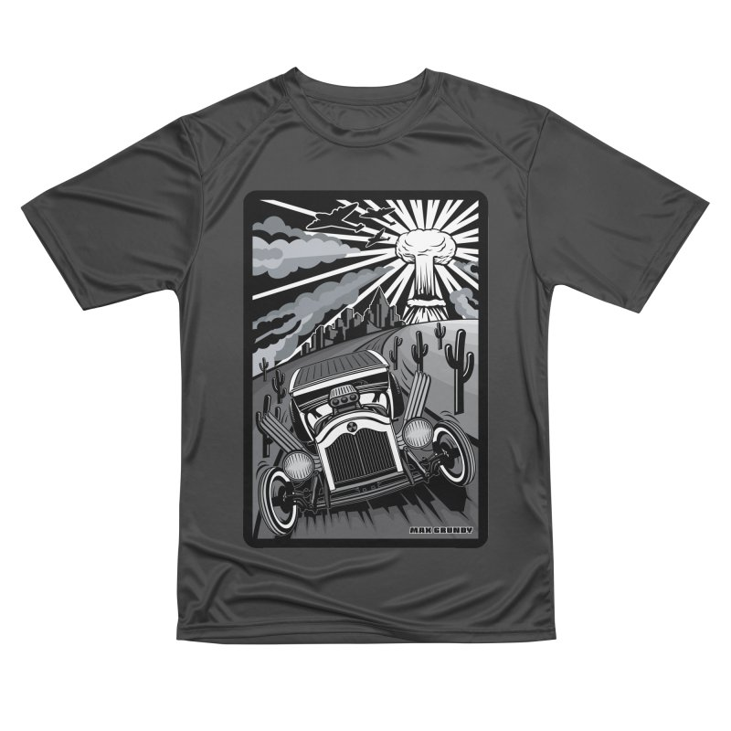 ESCAPE FROM L.A. (original version) Men's Performance T-Shirt by Max Grundy Design's Artist Shop